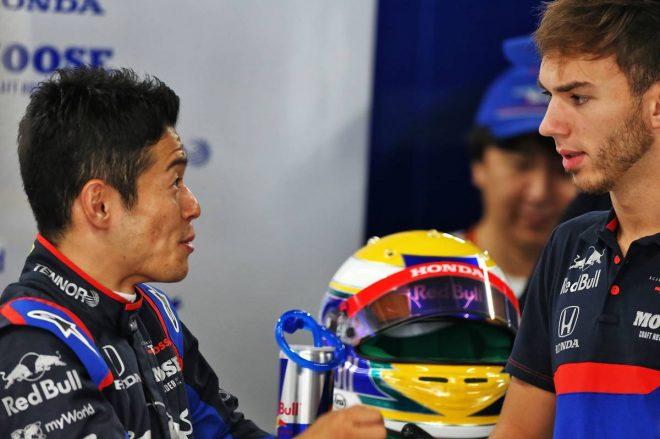 2019年F1第17戦日本GP FP1ではピエール・ガスリー車に山本尚貴が乗って走行した