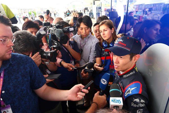 2019年F1第17戦日本GP フリー走行1回目で17番手タイムをマークした山本尚貴(トロロッソ・ホンダ)