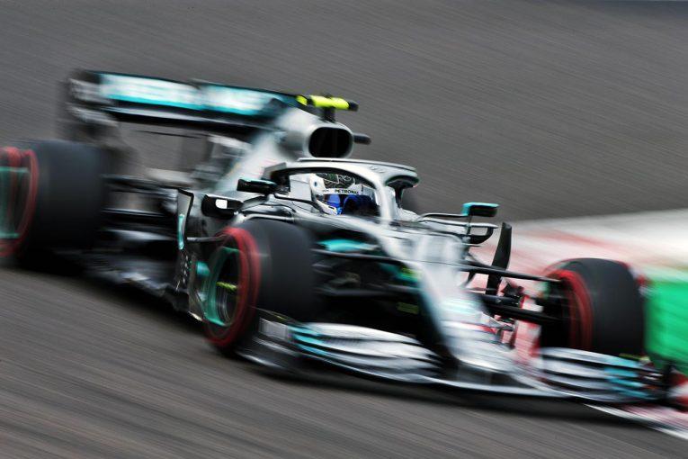 F1 | F1日本GP FP1:アップデート投入のメルセデス勢がトップタイム。トロロッソ・ホンダの山本尚貴はクビアトからコンマ1秒差の好走