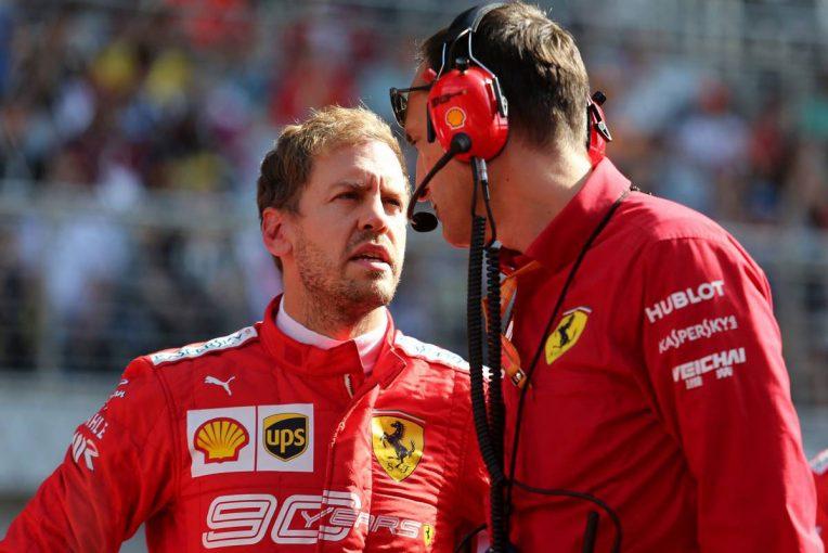 F1   ハミルトン、フェラーリF1の方針を疑問視も「ロシアでのベッテルはナンバー1ドライバーではなかった」
