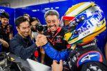 2019年F1第17戦日本GP 山本尚貴と佐藤琢磨