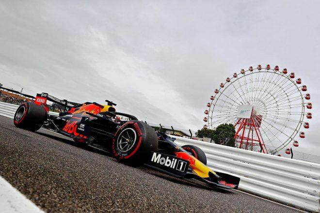 2019年F1第17戦日本GP マックス・フェルスタッペン(レッドブル・ホンダ)