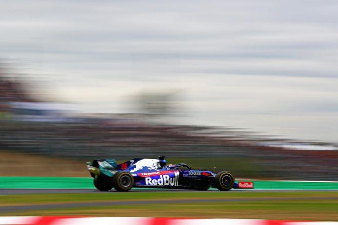 2019年F1第17戦日本GP金曜 ダニール・クビアト(トロロッソSTR14・ホンダ)