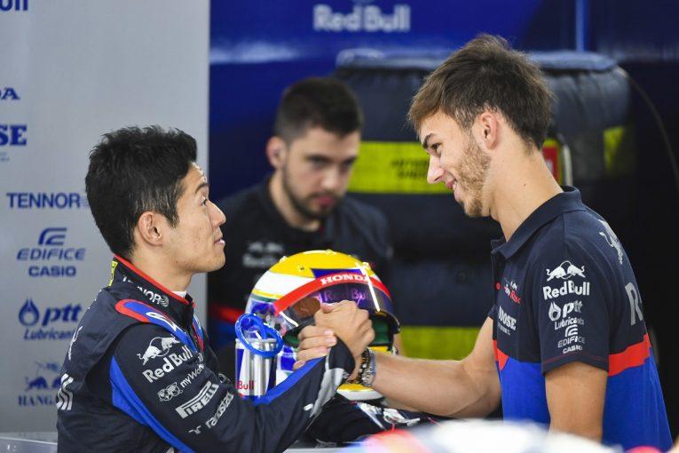 F1 | F1初走行の山本尚貴にマシンを託す元僚友ガスリー「『ごめんね』と言われたけど謝る必要なんてない。夢の瞬間を楽しんで」