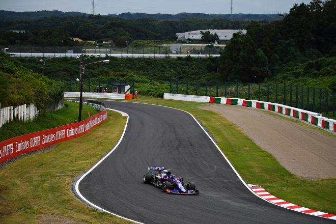 2019年F1第17戦日本GP金曜 ピエール・ガスリー(トロロッソ・ホンダ)