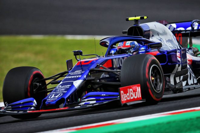 2019年F1第17戦日本GP ピエール・ガスリー(トロロッソ・ホンダ)