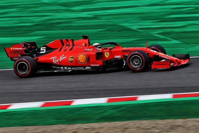 2019年F1第17戦日本GP金曜 セバスチャン・ベッテル(フェラーリ)