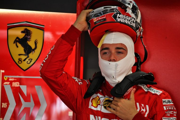 F1 | ルクレール4番手「速さがなくて驚いた。自分の走りもまだ完璧ではない」:フェラーリ F1日本GP金曜