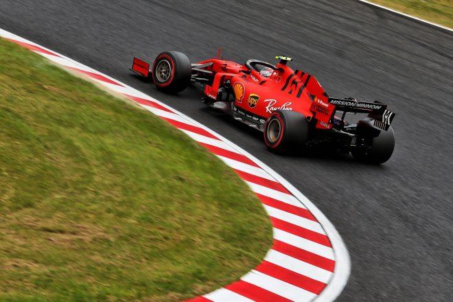 2019年F1第17戦日本GP金曜 シャルル・ルクレール(フェラーリ)