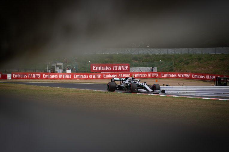 F1 | メルセデス、予選中止の事態にも備え、FP2でワンツー形成。最速ボッタス「ショート&ロングラン両方で好感触」:F1日本GP金曜