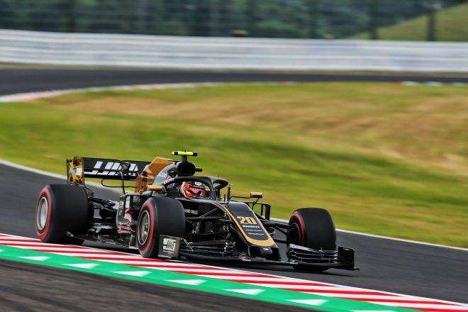 2019年F1第17戦日本GP ケビン・マグヌッセン(ハース)