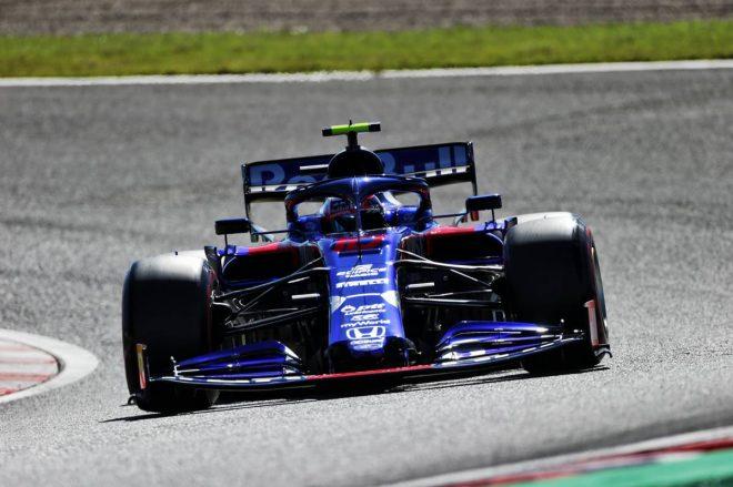 2019年F1第17戦日本GP予選 Q3に進出したピエール・ガスリー(っトロロッソ・ホンダ)