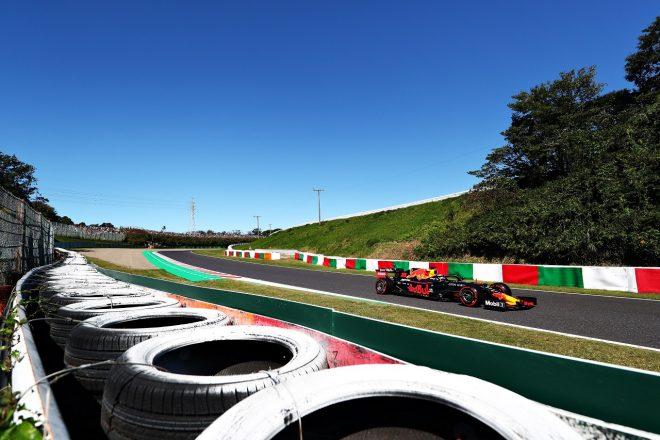 2019年F1第17戦日本GP予選 マックス・フェルスタッペン(レッドブルRB15・ホンダ)