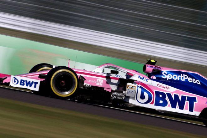 2019年F1第17戦日本GP日曜 ランス・ストロール(レーシングポイント)