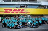 F1 | メルセデスがコンストラクターズチャンピオンを獲得