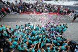 | メルセデスがコンストラクターズチャンピオンを獲得