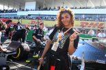 2019年F1第17戦日本GP ミュージシャンのクリスタル・ケイ