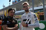 2019年F1第17戦日本GP日曜 ロマン・グロージャン(ハース)