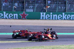 F1 | 2019年F1第17戦日本GP シャルル・ルクレール(フェラーリ)とマックス・フェルスタッペン(レッドブル・ホンダ)が接触