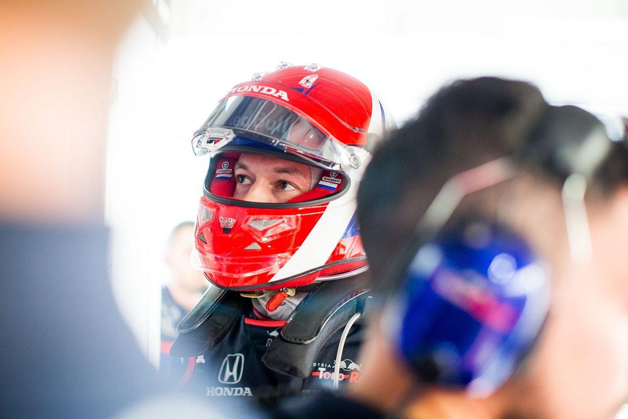 2019年F1第17戦日本GP ダニール・クビアト(トロロッソ・ホンダ)