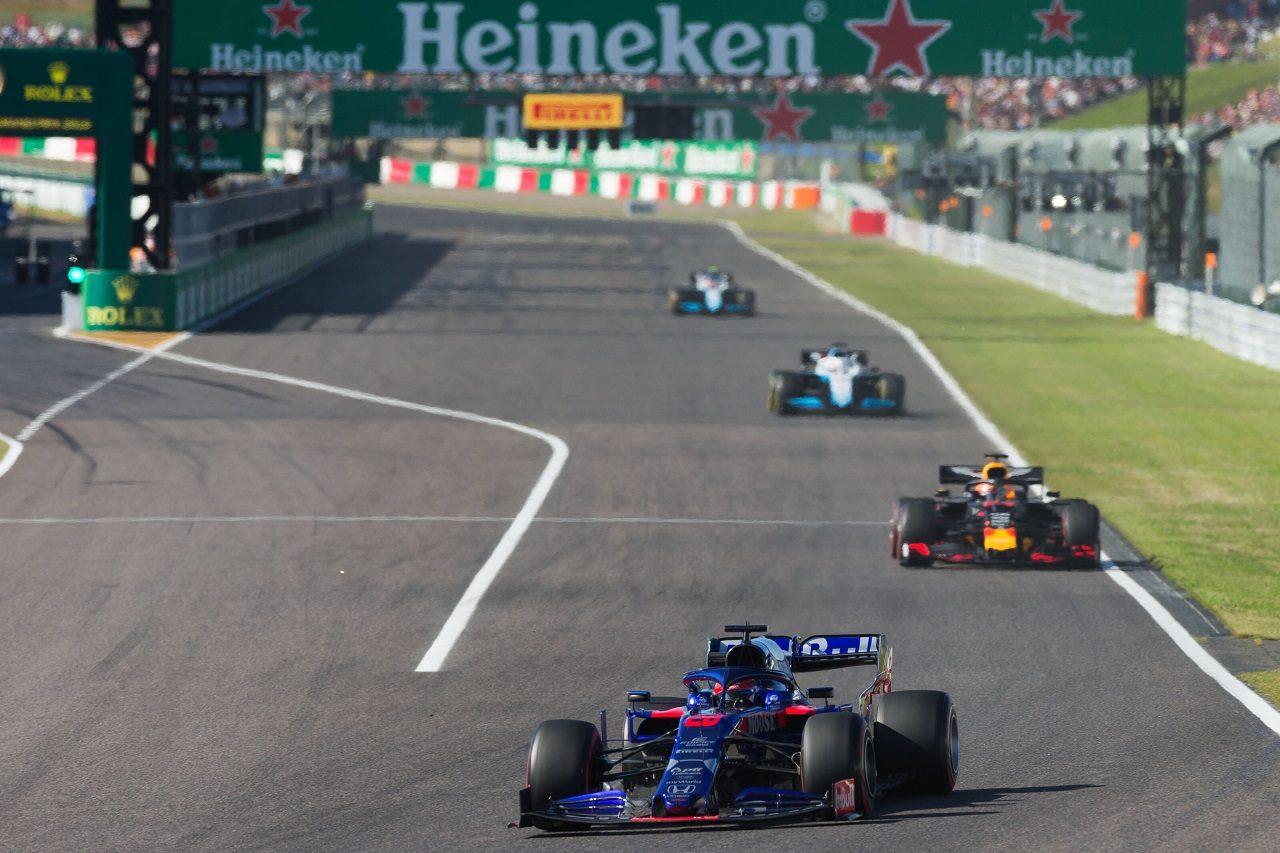 2019年F1第17戦日本GP日曜 ダニール・クビアト(トロロッソ・ホンダ)