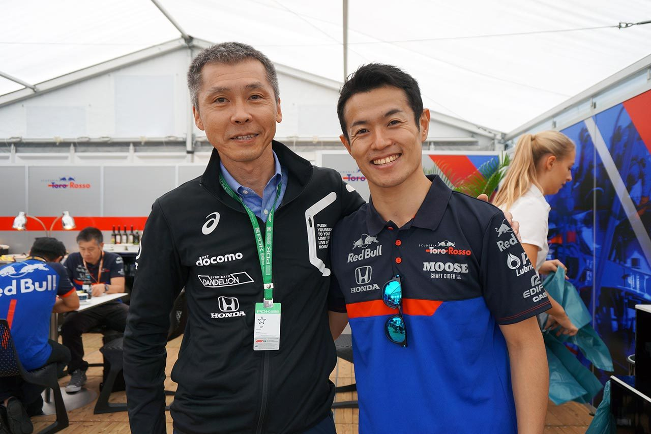 2019日本GP鈴鹿F1山本尚貴初ドライブ