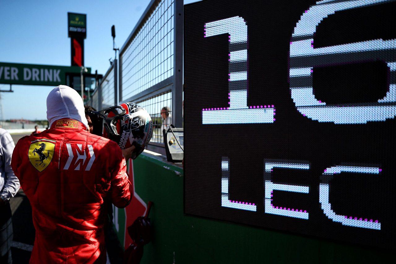 2019年F1第17戦日本GP日曜 シャルル・ルクレール(フェラーリ)