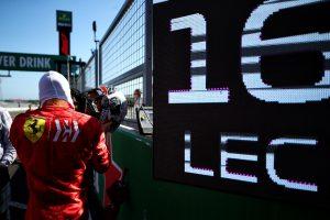 F1 | クラッシュのルクレール、15秒のペナルティで降格「僕のミスでマックスのレースを台無しにした」:フェラーリ F1日本GP