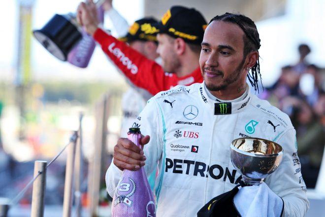 2019年F1第17戦日本GP ルイス・ハミルトン(メルセデス)が3位を獲得
