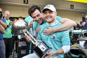F1 | ボッタス、史上初のダブルタイトル6連覇に勝利で貢献「鈴鹿がますます好きになった」メルセデスF1日本GP