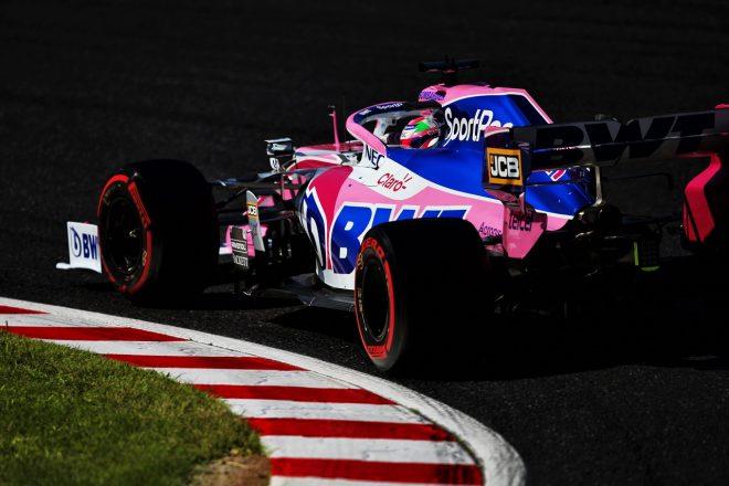 2019年F1第17戦日本GP セルジオ・ペレス(レーシングポイント)