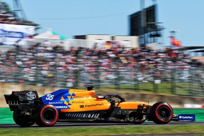 2019年F1第17戦日本GP カルロス・サインツJr.(マクラーレン)