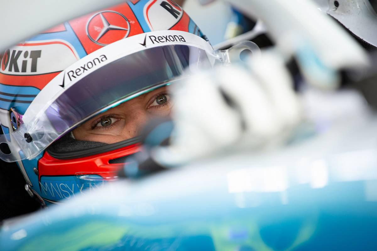 2019年F1第17戦日本GP ジョージ・ラッセル(ウイリアムズ)