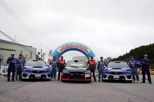 ラリー/WRC | 奴田原文雄/佐藤忠宜(ミツビシ・ランサーエボリューションX)