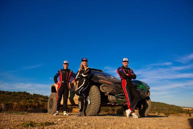 ラリー/WRC | 2021年発足『エクストリームE』向け電動SUVが初の本格テスト迎える。「マシンは軽快かつ機敏」