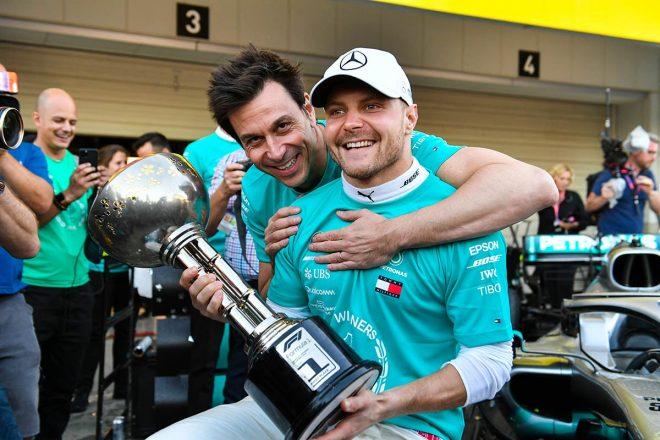 F1第4戦アゼルバイジャンGP以来の勝利を鈴鹿で飾ったバルテリ・ボッタス