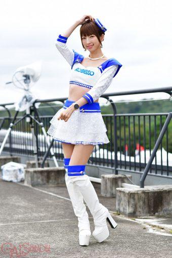 レースクイーン | 清瀬まち(2019 KOBELCO GIRLS)