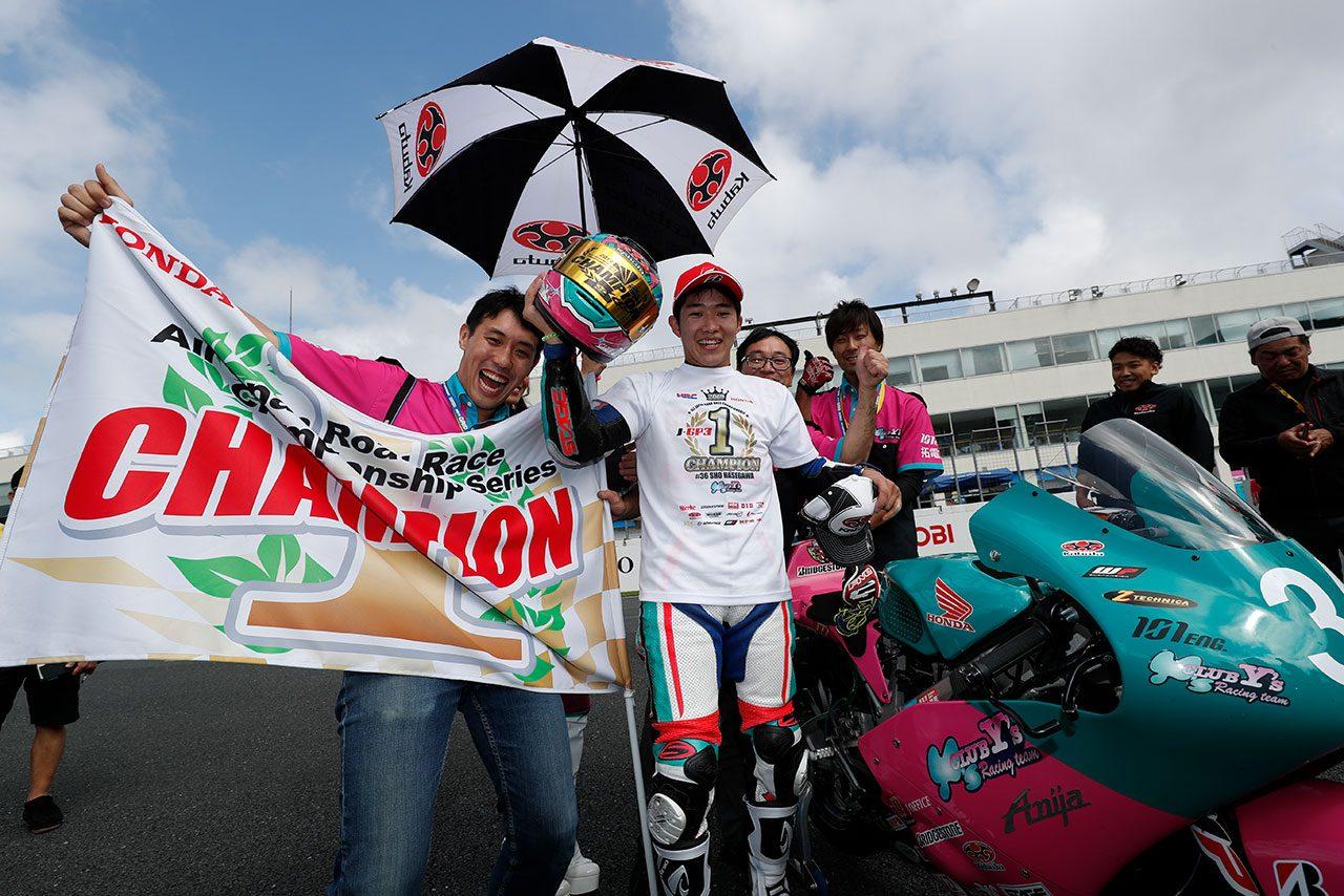 Moto3デビューを果たす全日本ロードJ-GP3王者の長谷川聖