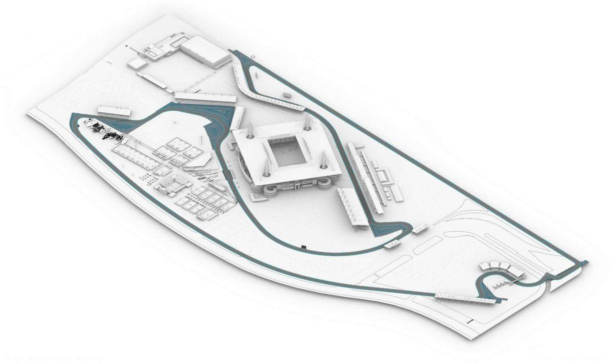 F1マイアミGP予想コース図