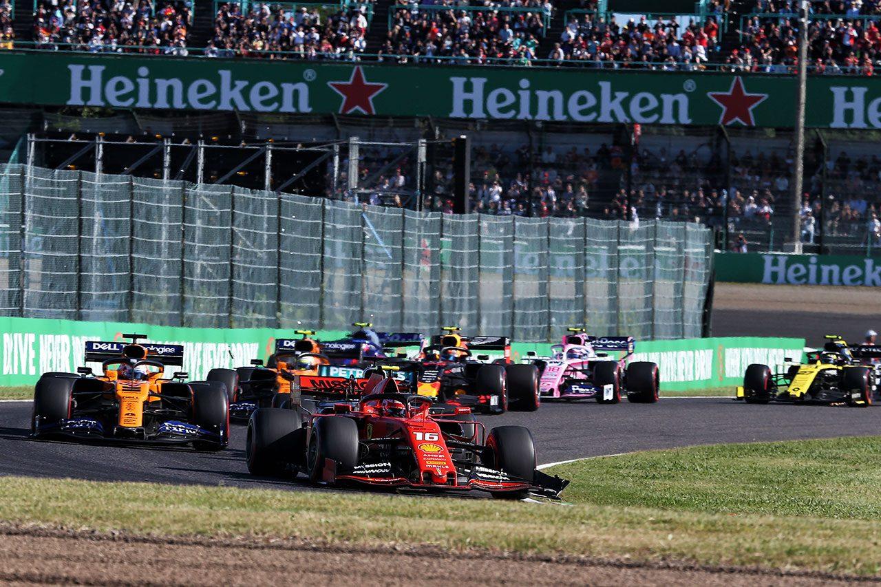 2019年F1第17戦日本GP シャルル・ルクレール(フェラーリ)