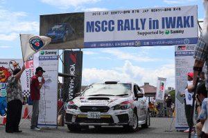ラリー/WRC | 2018年に行われたMSCCラリー in ふくしま