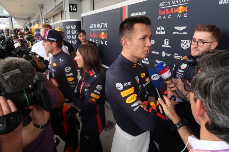 Blog | 【ブログ】ホンダ勢は悲喜交々。プレス対応で貫禄を見せたアルボンが4位に/F1日本GP現地情報(2)