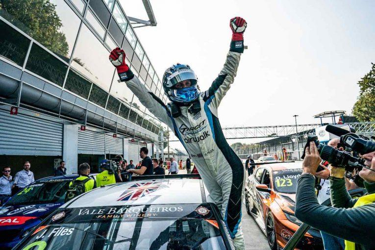 海外レース他 | TCR EU最終戦:ジョシュ・ファイルズ勝利でタイトル獲得も、ECU検査で暫定リザルトに