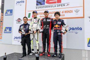 海外レース他 | ユーロフォーミュラ・オープン第9大会レース1 表彰台