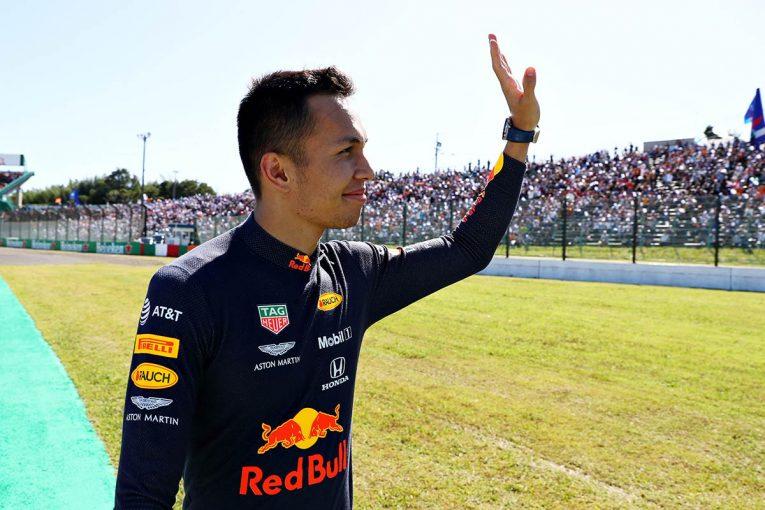 "F1 | 初走行の鈴鹿で驚異的な習熟度を見せたアルボン。""攻めと守り""の走りで4位を確保【今宮純のF1日本GP採点】"