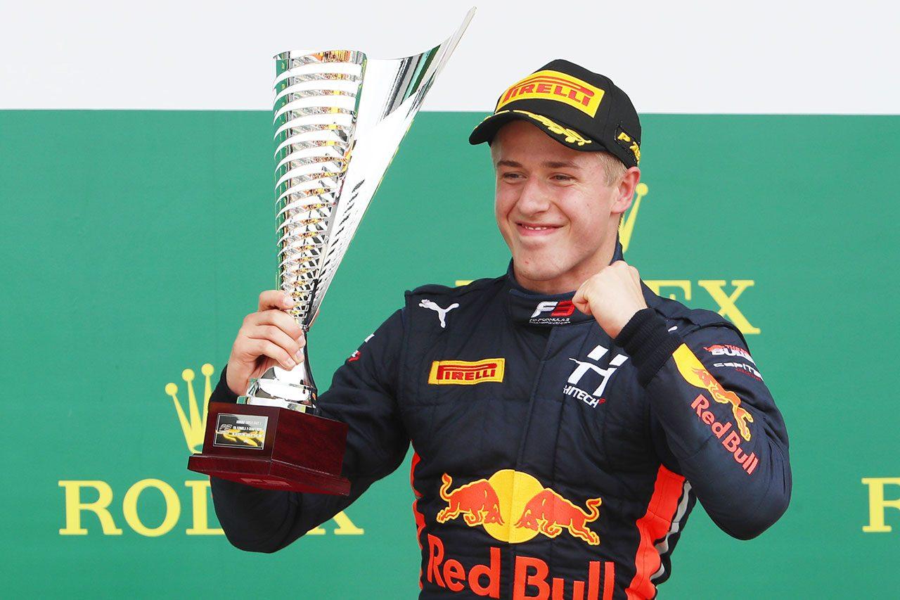 2019年FIA-F3第4戦シルバーストン レース1 ユーリ・ビップス(ハイテック)