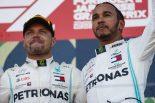 F1 | 2019年F1チャンピオン争いの権利を持つのはハミルトンとボッタスのみに。メルセデス代表「ふたりを平等に戦わせる」