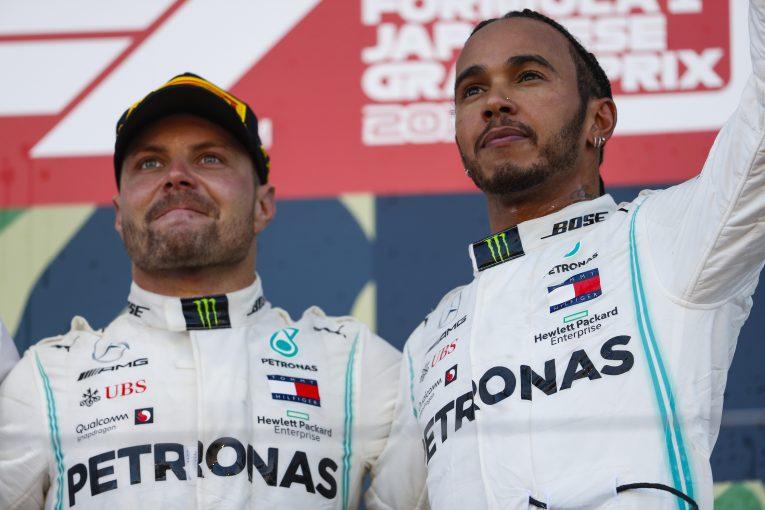 F1   2019年F1チャンピオン争いの権利を持つのはハミルトンとボッタスのみに。メルセデス代表「ふたりを平等に戦わせる」