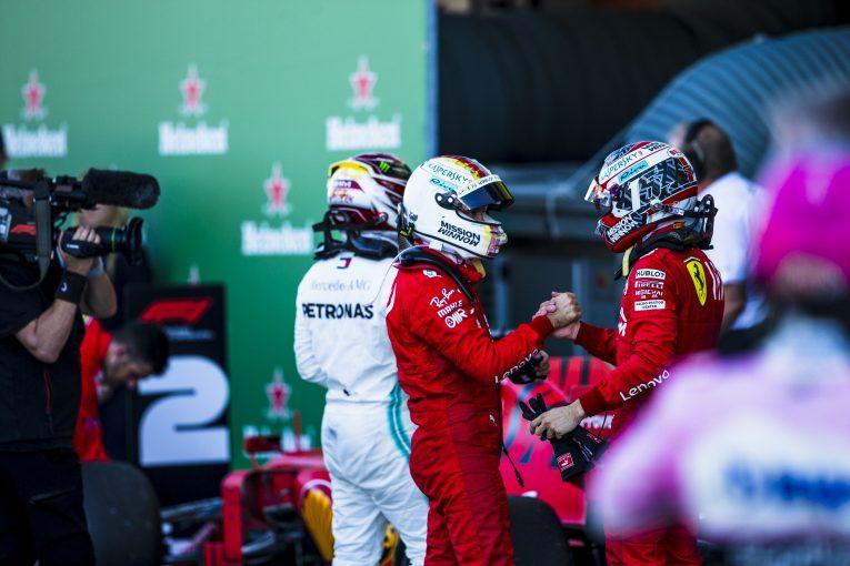 F1 | ルクレール「自分がフェラーリF1のナンバーワンだとは考えていない」。ベッテルから吸収している段階と語る