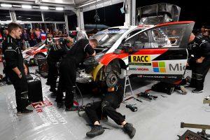 ラリー/WRC | ラリー・エスパーニャのサービスパーク